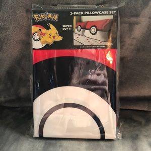 NWT Pokémon pillow cases